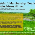 District 1 Virtual Membership Meeting