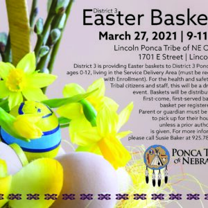 District 3 Easter Baskets