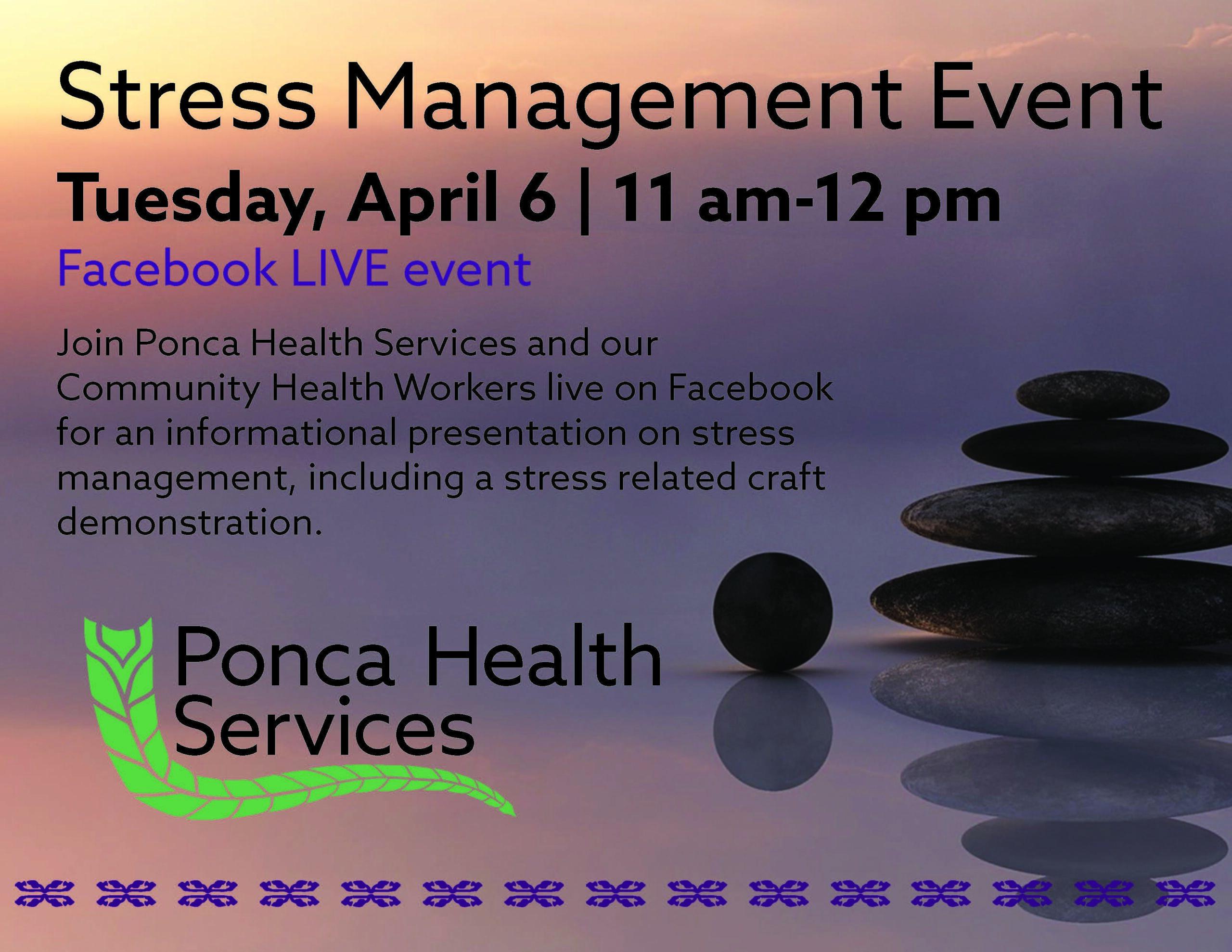 Stress Management Event Live on Facebook