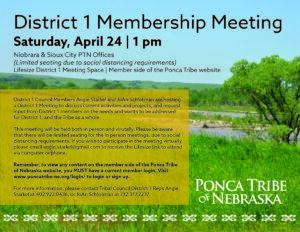 District 1 Membership Meeting