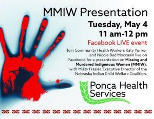 MMIW Facebook Live Presentation