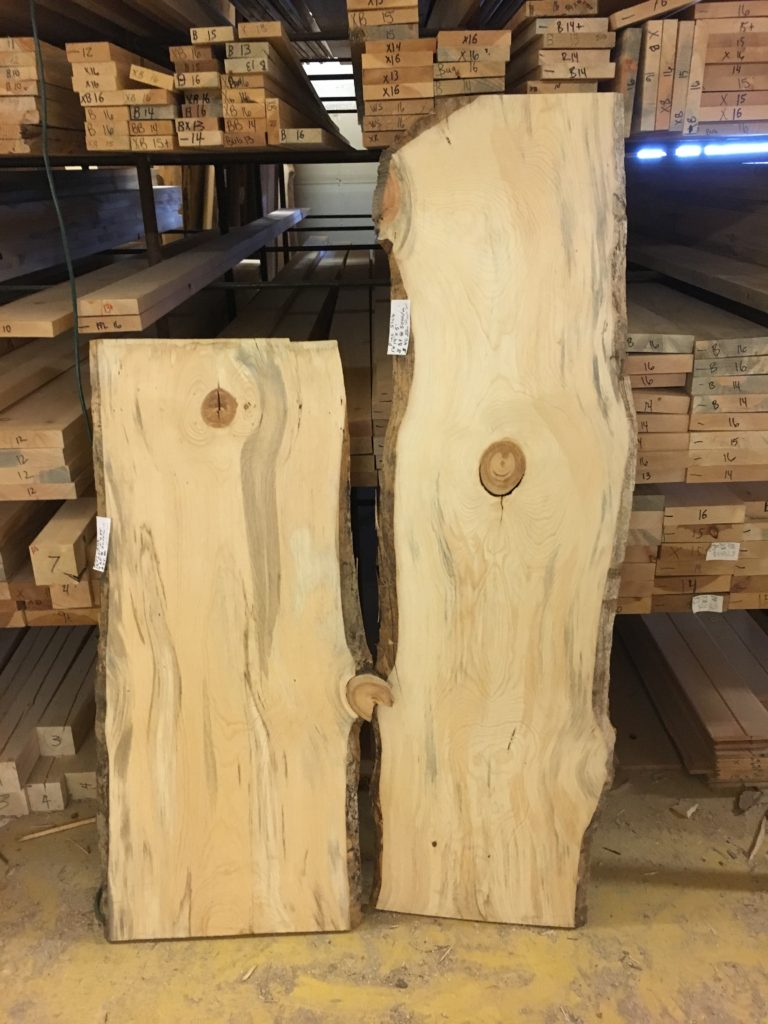 LIVE WOOD SLABS FOR THE 2 TIER VANITY