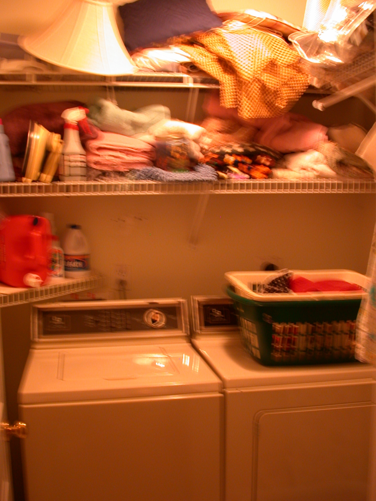 BEFORE: LAUNDRY ROOM