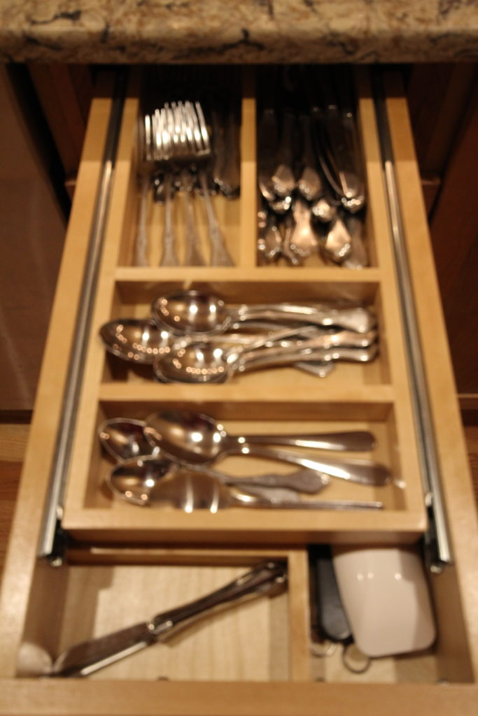 AFTER: TWO TIER CUTLERY DRAWER