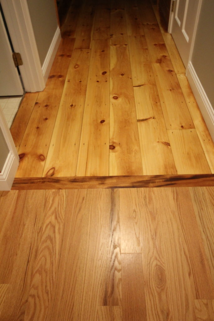 AFTER: BLENDING DIFFERENT WOOD FLOORS TOGETHER