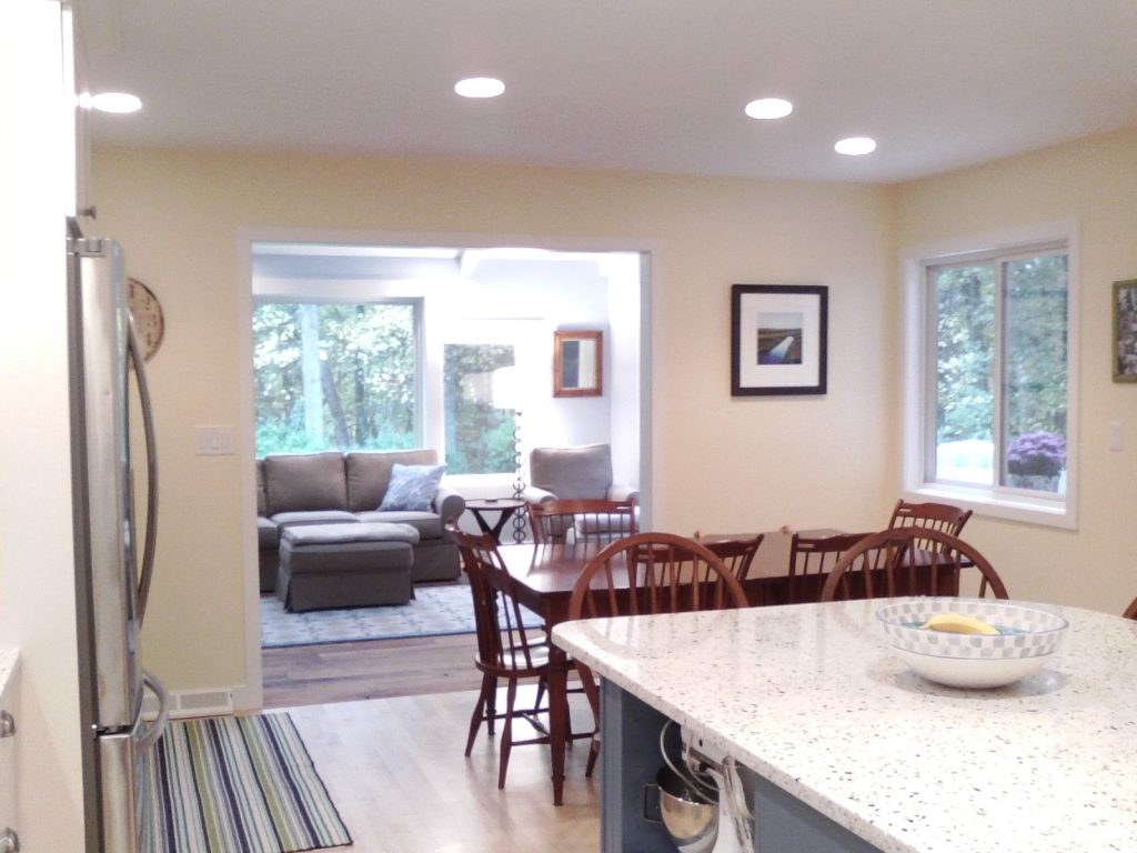 AFTER: A FARMHOUSE STYLE KITCHEN AND SUNROOM FOR ALL TO ENJOY