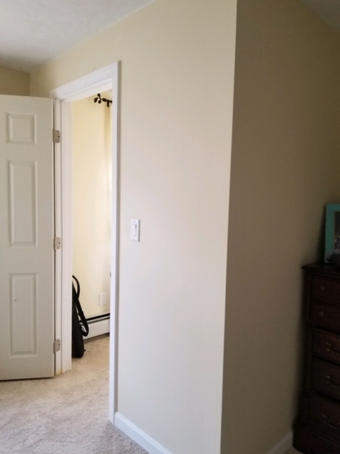 AFTER: EXTERIOR OF WALK-IN CLOSET