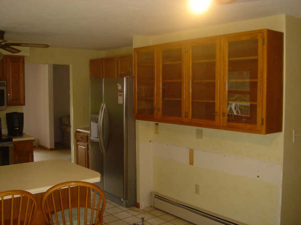 BEFORE: CONFIGURATION OF OLD KITCHEN