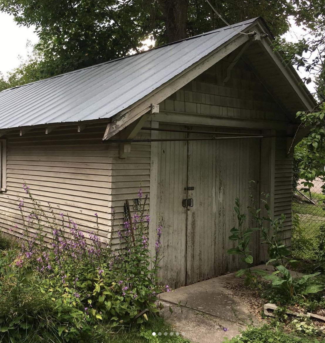 BEFORE: THE BACKYARD SHED