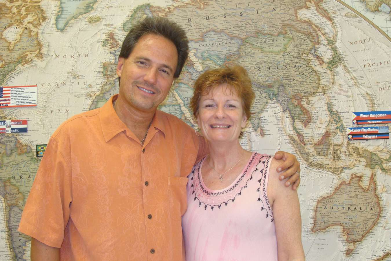 Pastor Keith with Kelly Willard