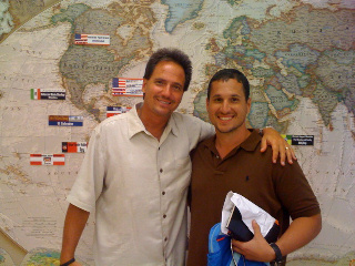 Pastor Keith with Pastor Pedro Garcia, of Calvary Chapel Kendall, Miami, Fla.