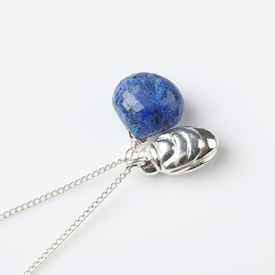 Sophie Lutz Jewellery Transformation Scarab Beetle silver necklace
