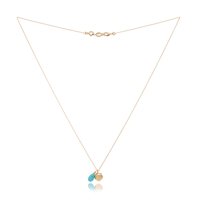 Sophie Lutz Jewellery Health Apple gold necklace
