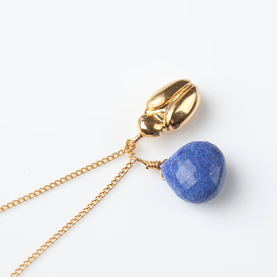 Sophie Lutz Jewellery Transformation Scarab Beetle Gold