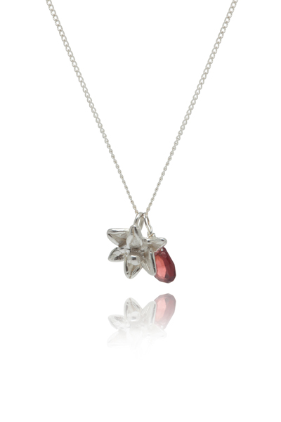Sophie Lutz Jewellery Sex Symbolism Silver Pomegranate Necklace