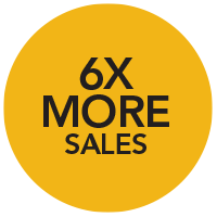 6X Sales of the average real estate agent