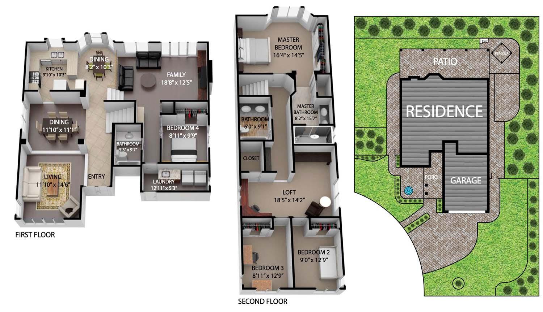 11 Henry floor plan