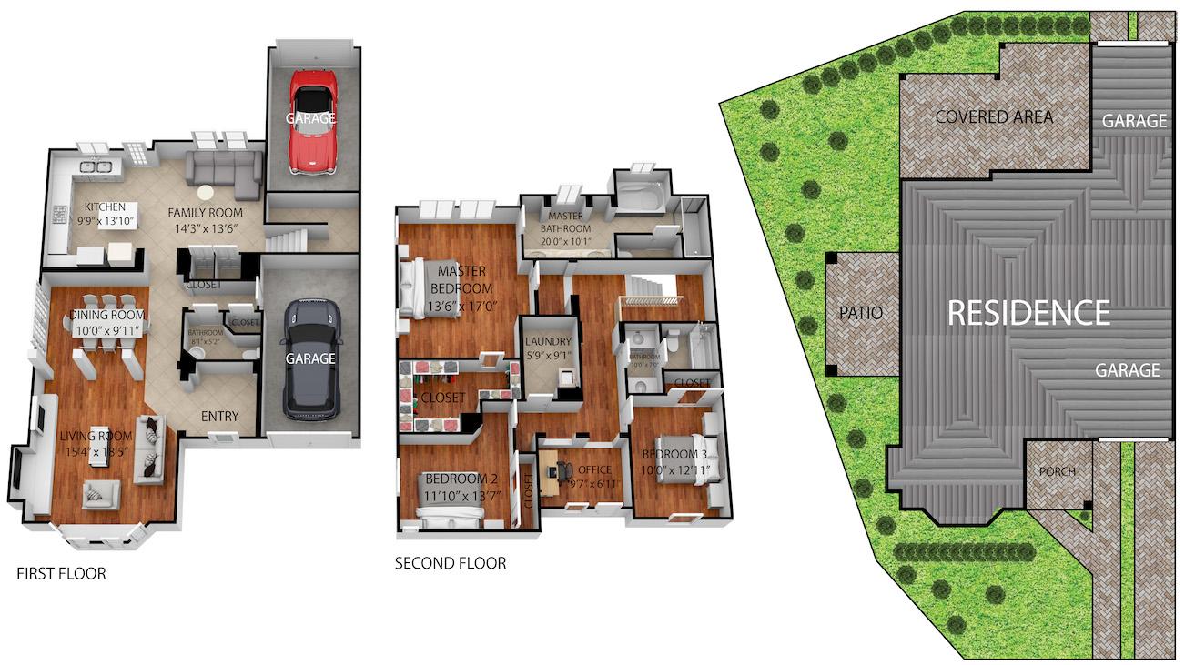 64 Middlebury floor plan
