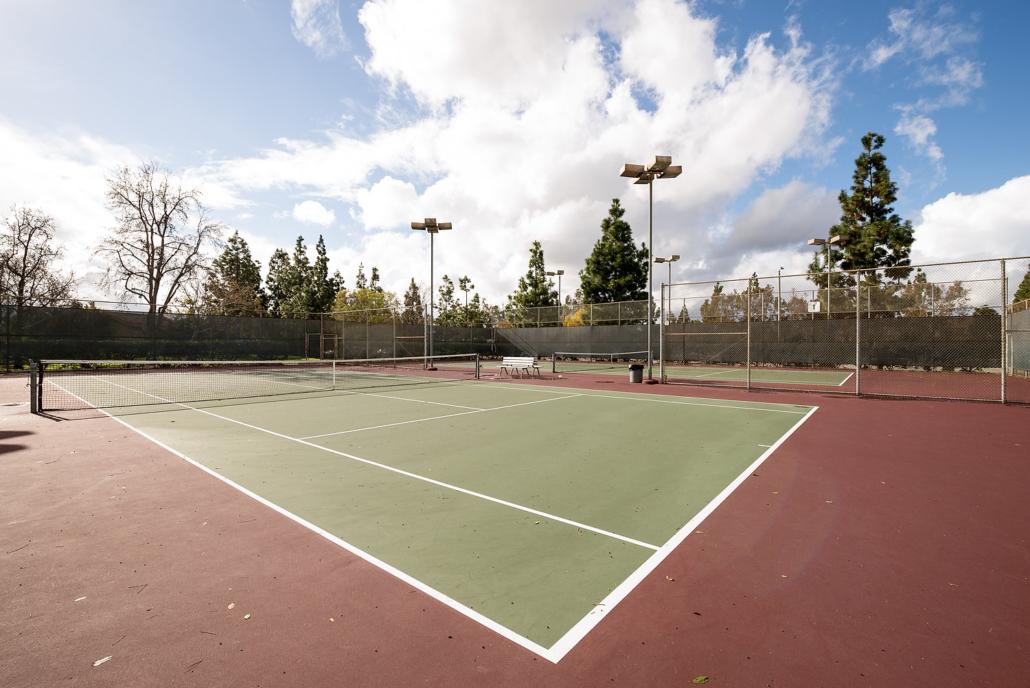 Racquet Club tennis Courts - Irvine, CA