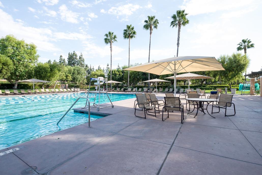 Meadowood Park Swimming Pool in Irvine