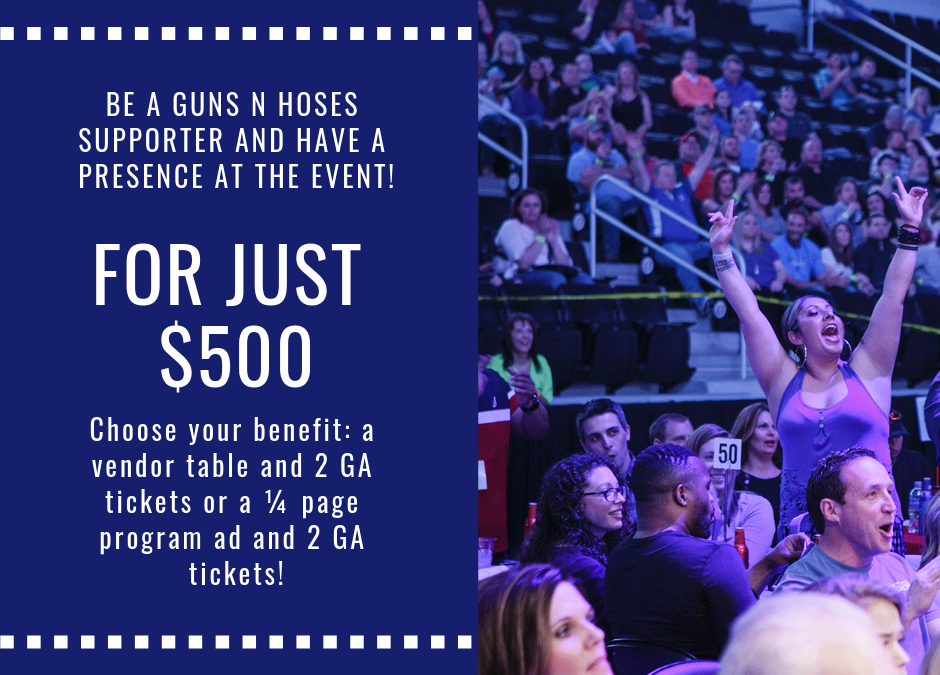 Your business can be a supporter at just $500!