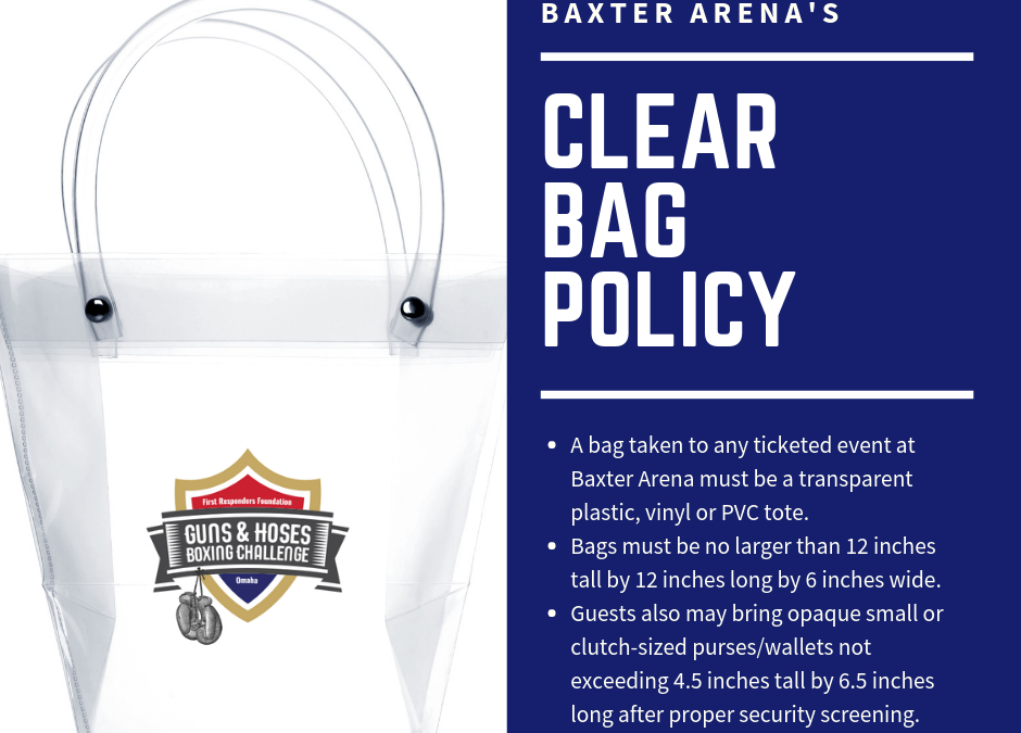 Baxter Arena Now Has Clear Bag Policy