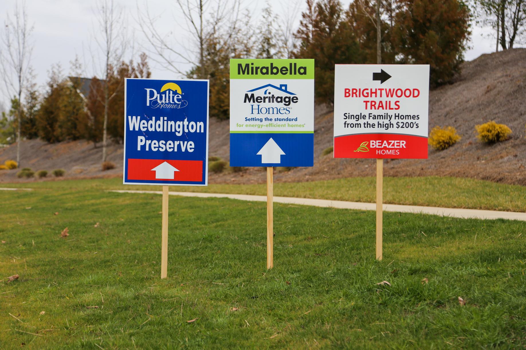 Homebuilder Signage