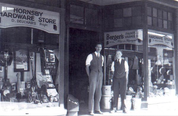 Hornsby Hardware Store Pacific Highway, Hornsby - 1938