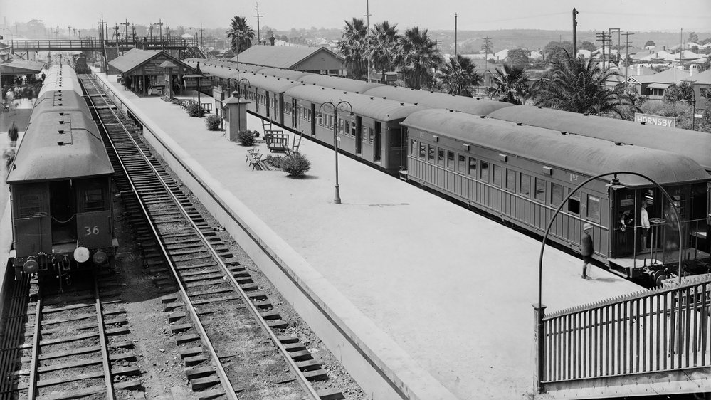 Hornsby Railway Station - 1930