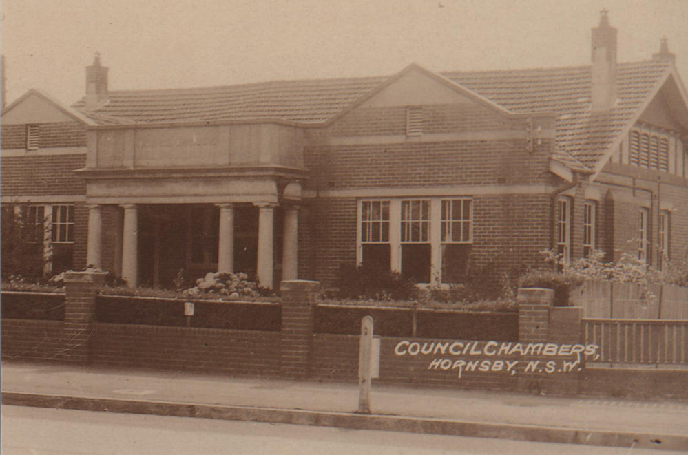 Hornsby Shire Council Chambers 1920-1929