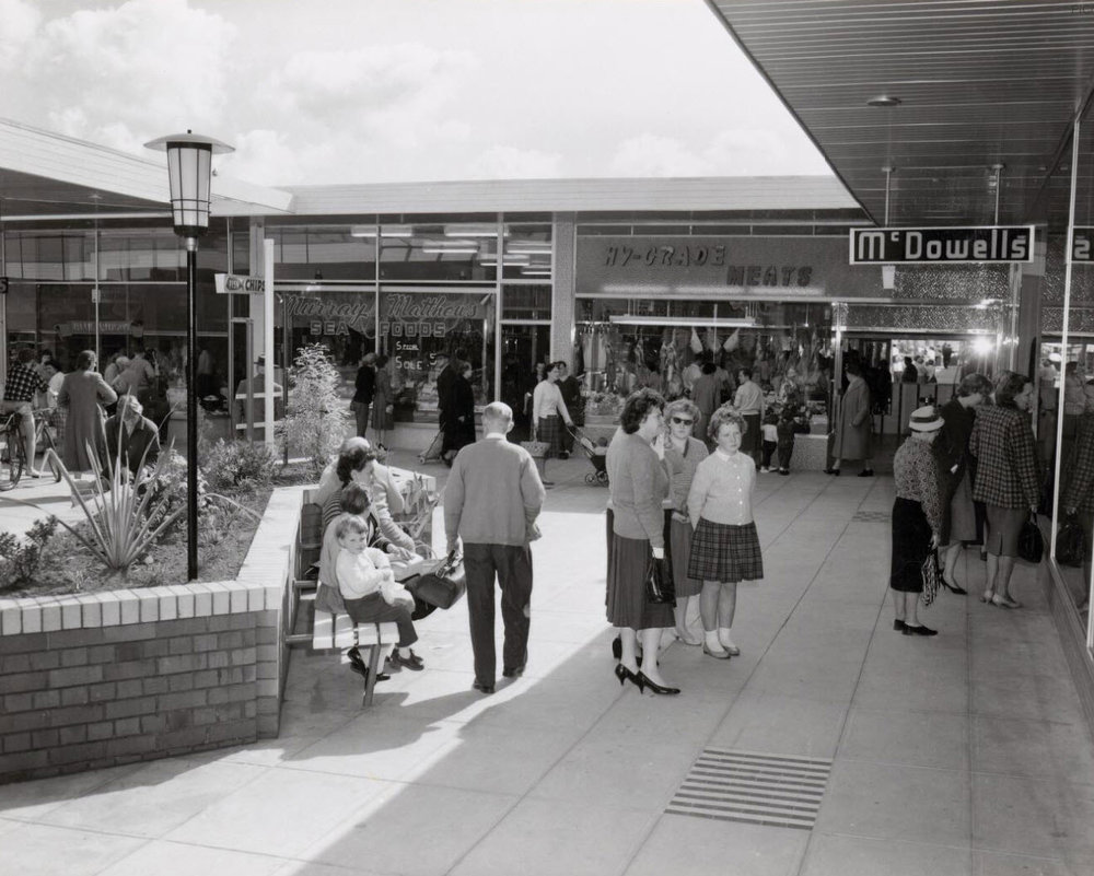 Hornsby Westfield Shopping Plaza - 1961