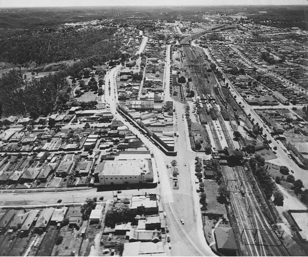 Hornsby aerial photograph, C.1952