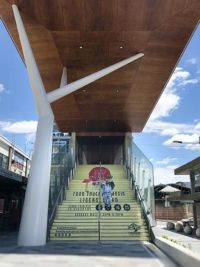 Hornsby station stairs