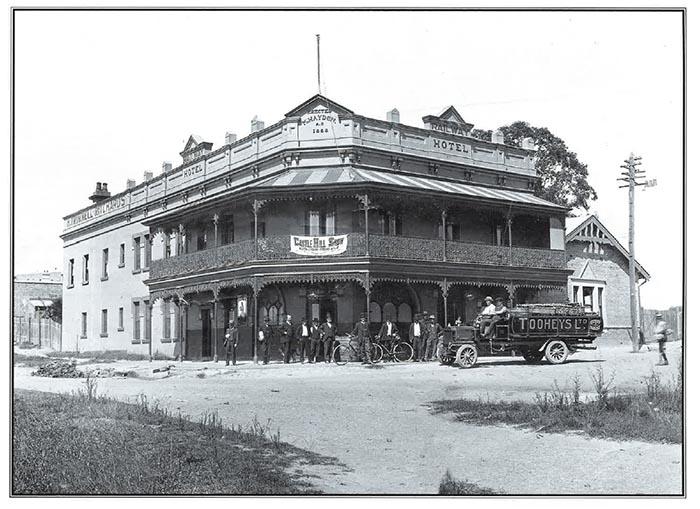 Railway Hotel Hornsby 1907