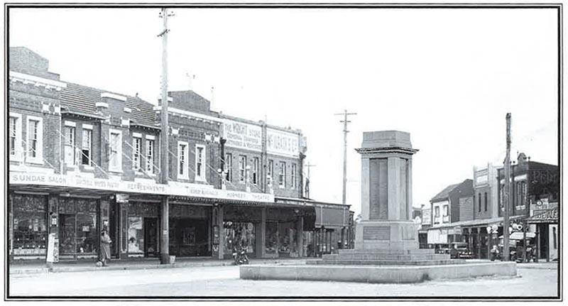 Hornsby Cenotaph 1923