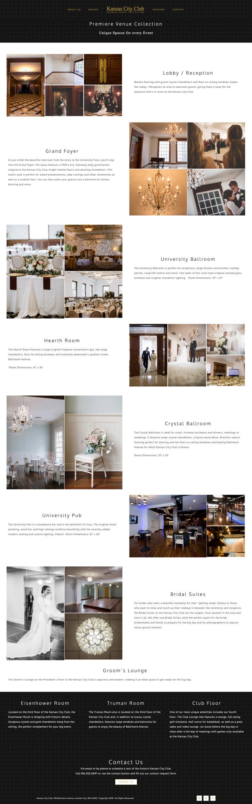 Custom Website Design for KCC