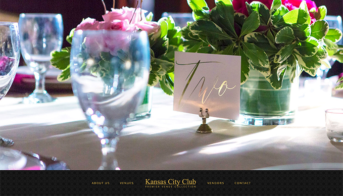 Custom Website Design for KCC