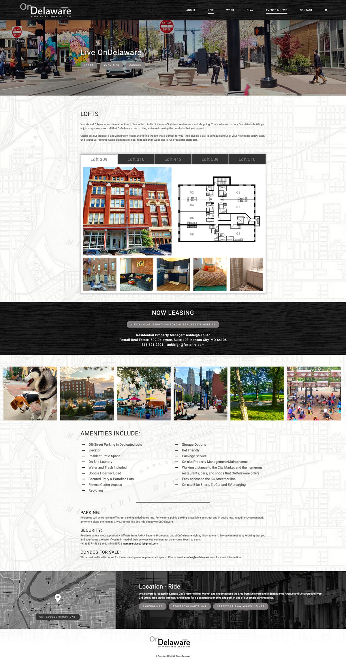 Custom WordPress Design for On Delaware