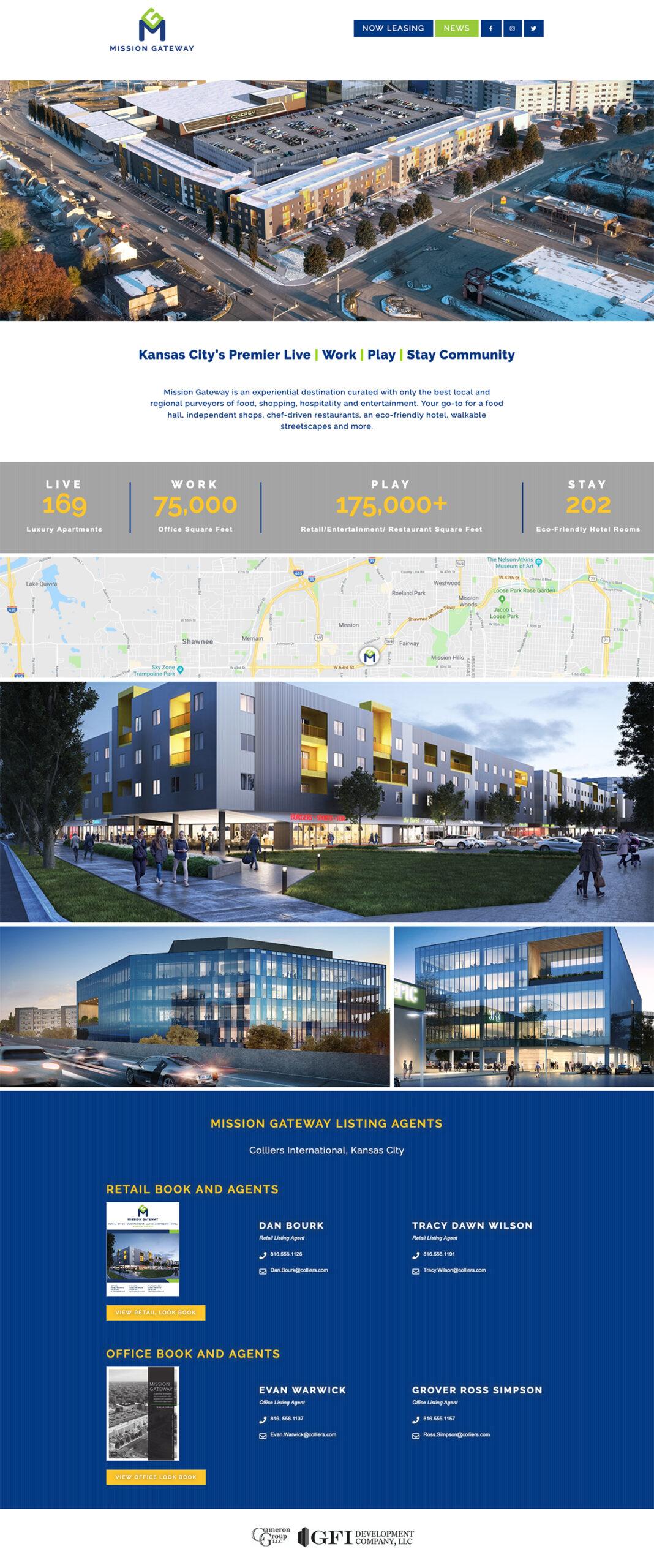 Mission Gateway: Property Website Design