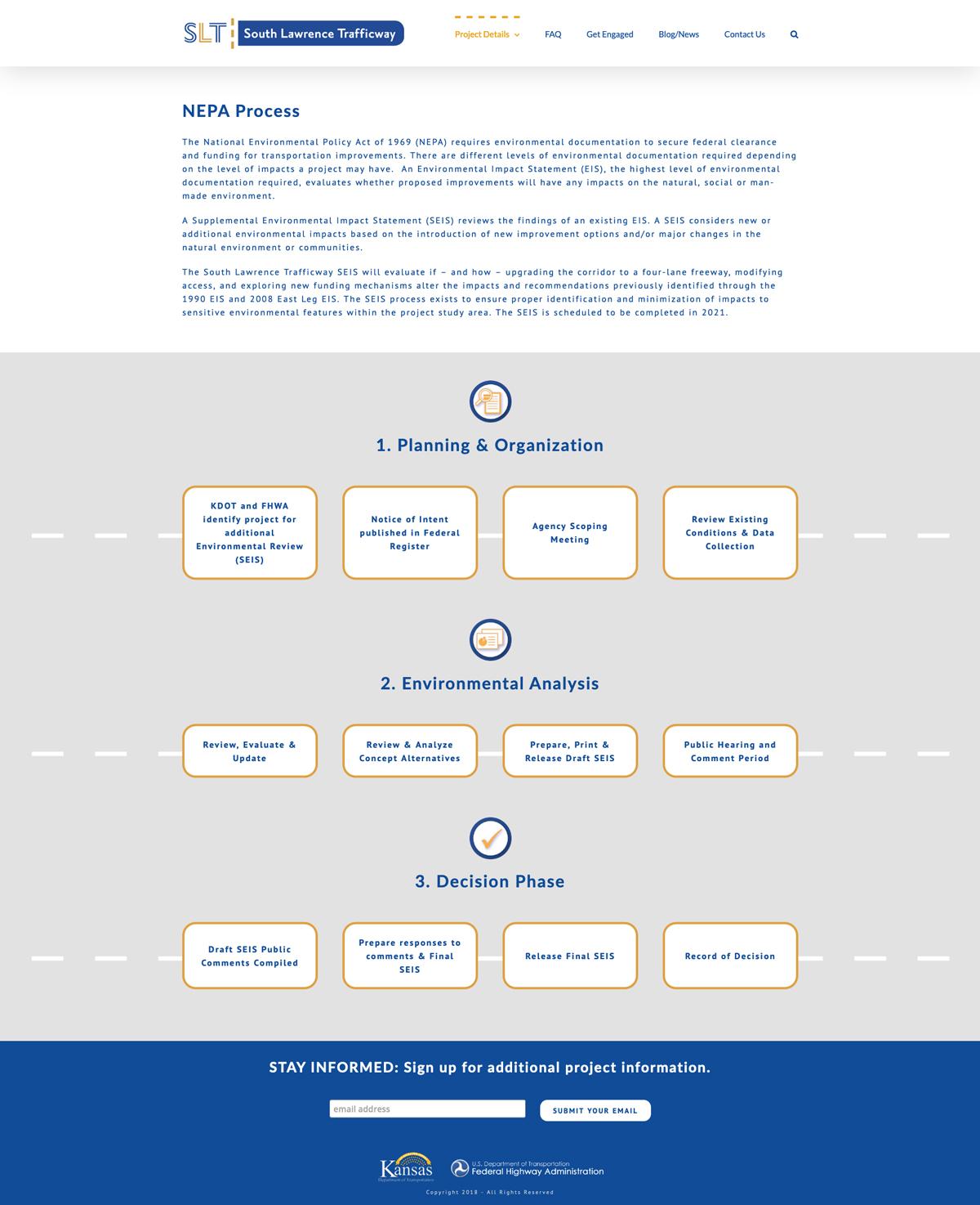 Informational Website Design