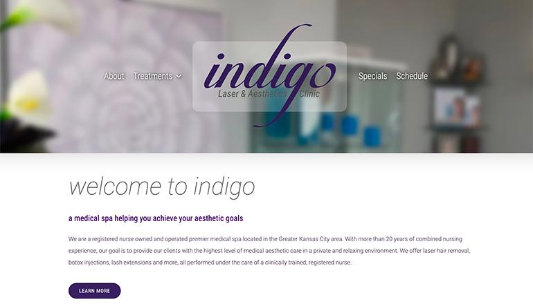 MyIndigo.com Website Design