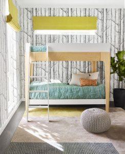 Jennifer Jones window coverings for kids rooms