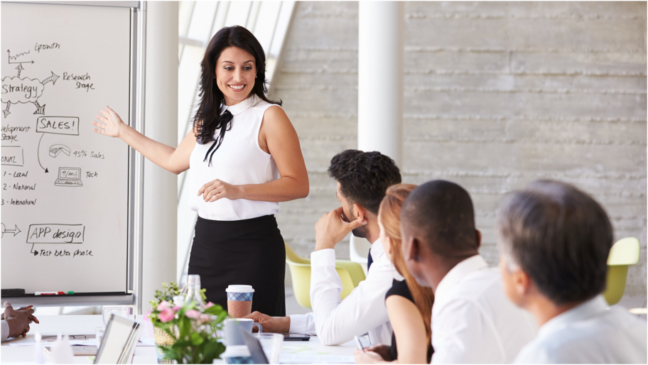Training Example - Business Presentation