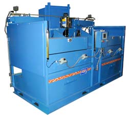 An example of an ADF custom built parts washer