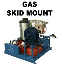 ADF Systems, Inc. Gas Engine Skid Mount Pressure Washer
