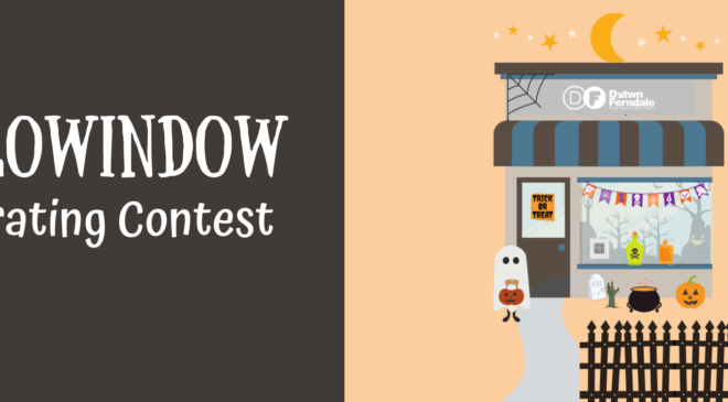 Register for the Ferndale Hallowindow Decorating Contest