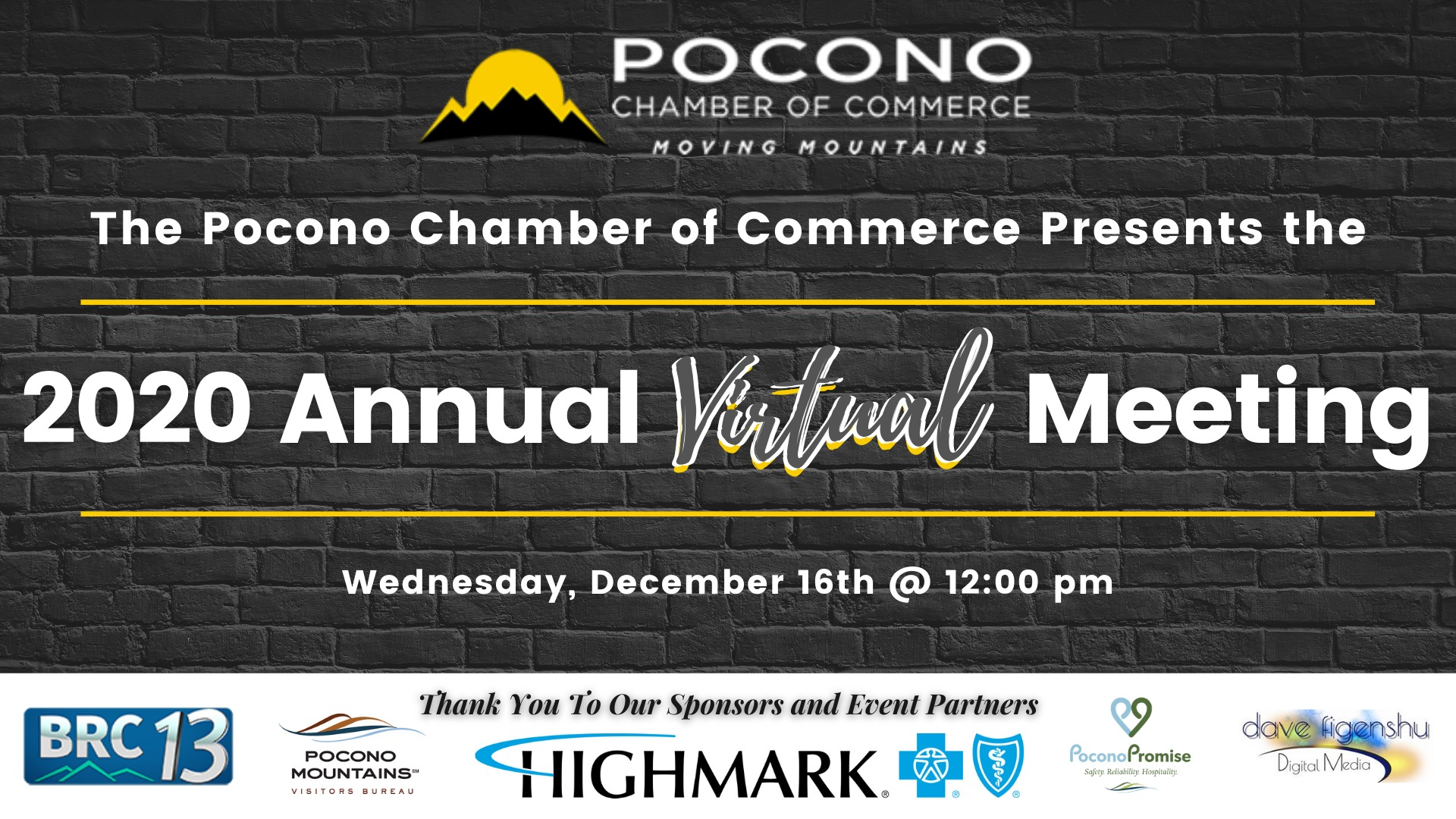 Pocono Chamber Annual Meeting 2020