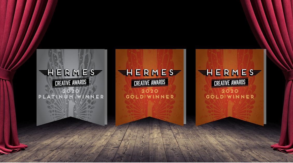 Writing by Design earns one platinum and two gold Hermes Awards