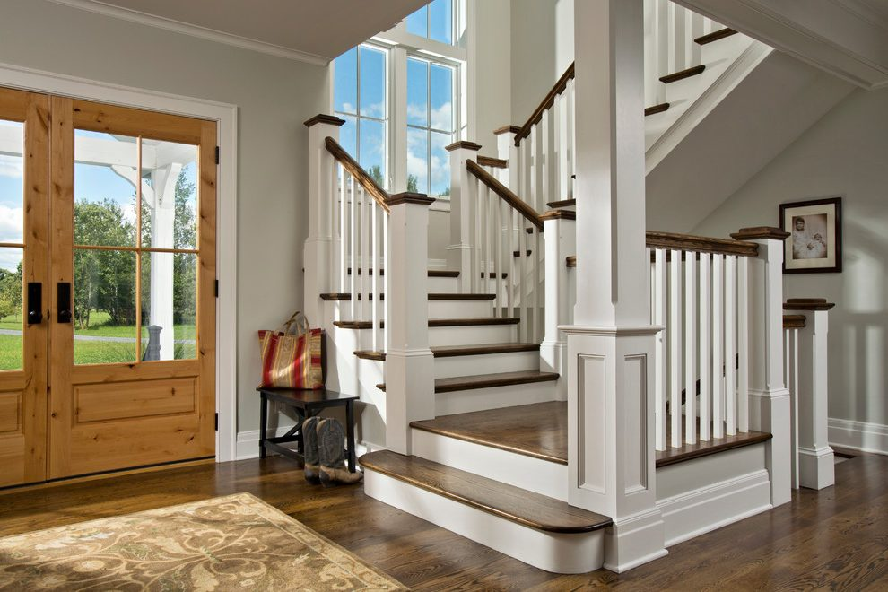 Custom Farmhouse Stairwell Project