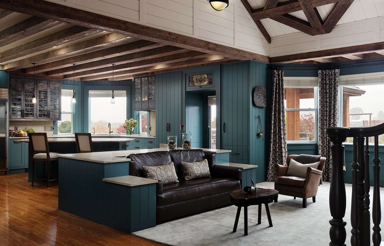 Wood Beams and Interior Paint